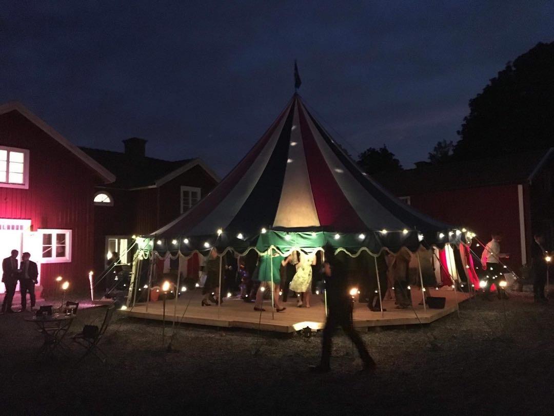 Hyr Partytält Cirkustält av Linus A i Örby, Stockholm för